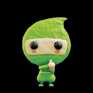 緑カクニンジャ クレイ版